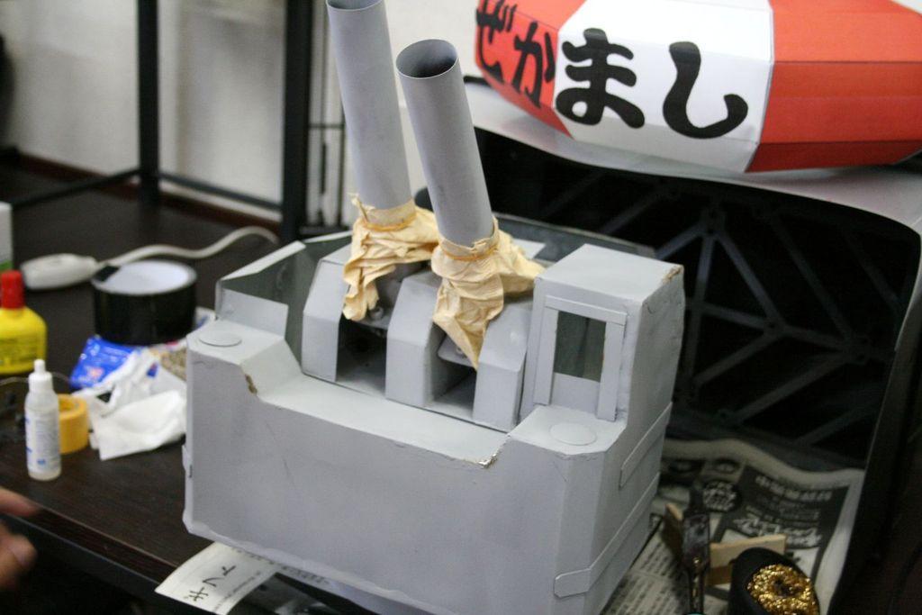 連装砲ちゃん(大)、ホビーカフェガイアに!